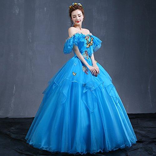 The bleu XXL JKJHAH Soirée Robes De Soirée Robes De Soirée Femme