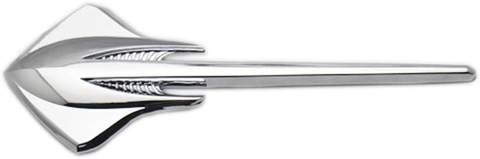 Dsycar 1 Stücke 3d Metall Stingray Auto Aufkleber Logo Emblem Abzeichen Aufkleber Aufkleber Auto Styling Diy Dekoration Zubehör Für Universal Cars Motorrad Bike Auto Styling Dekorative Zubehör Auto
