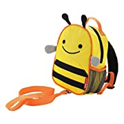 Toddler Leash and Harness Backpack, Zoo Collection, Bee