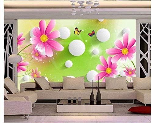Hxcok 壁紙小さなクールドリームスプリングテレビ3D背景素晴らしいフレスコ画-340X210cm