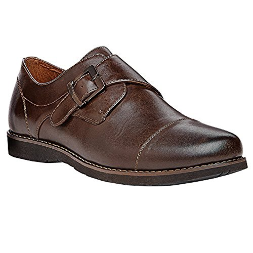Propet Mens Graham Shoe Chocolate 8 X (3e) E Oxy Cleaner Bundle