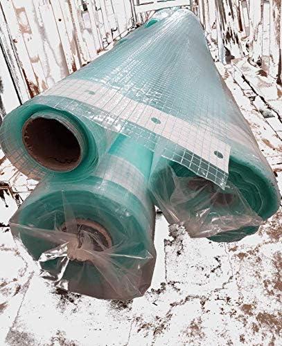 250g//m Gew/ächshaus /& Beet BellaFlores,Gitterfolie,Gew/ächshausfolie Breite 3,0m x L/änge 9,0m ca UV-stabilisiert !