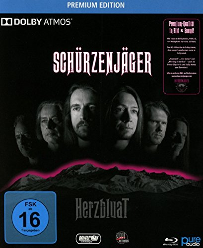 Blu-ray Audio : Schuerzenjaeger - Herzbluat (Germany - Import, 2PC)