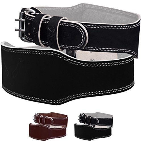 Mytra Fusion 4 inch Leather Weight Lifting Belt courted power lifting back support belt weight lifting belt men weight lifting belt women weight lifting belt lever weight lifting powerlifting belt Review