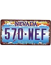 USA tablica rejestracyjna metal tabliczka blaszana tabliczka plakietka do kawiarni bar drzwi - Nevada