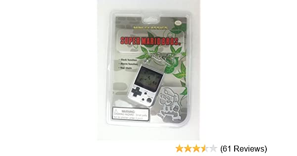 Nintendo Mini Classics Super Mario Bros. Electronic Handheld Game Key Chain
