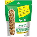 Mealworms - Premium Dried Mealworms (2 lb bag) byTasty Bug Treats (Meal Worms)
