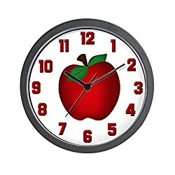 CafePress - Apple - Unique Decorative 10 Wall Clock