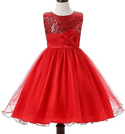 Amazon.com: Niños Boda, sryshkr vestidos de niña infantil ...