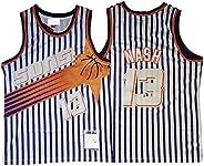 13# Nash Basketball Jerseys for Men Women, Retro Embroidery Sleeveless Mesh Quick-Drying Sportswear, Five Colo