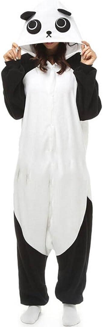 Fandecie Pijama Panda, Onesie Modelo Animales para Adulto ...