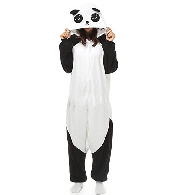 Fandecie Pijama Panda, Onesie Modelo Animales para adulto entre 1,60 y 1,