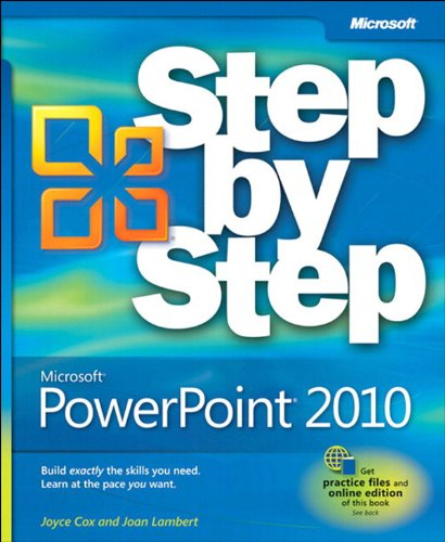 Microsoft® PowerPoint® 2010 Step by Step Pdf