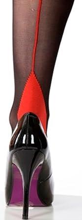 Image result for scarlet seamer black red tights