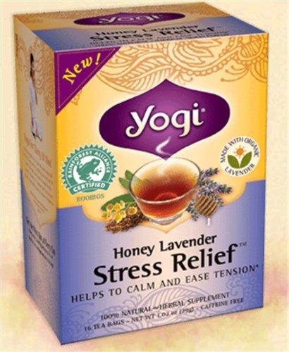 Le miel de lavande Stress Relief (Caisse de 6) 16 Sachets