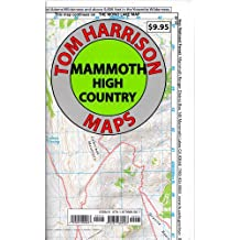 Mammoth high country trail map: Waterproof, tearproof (Tom Harrison Maps)