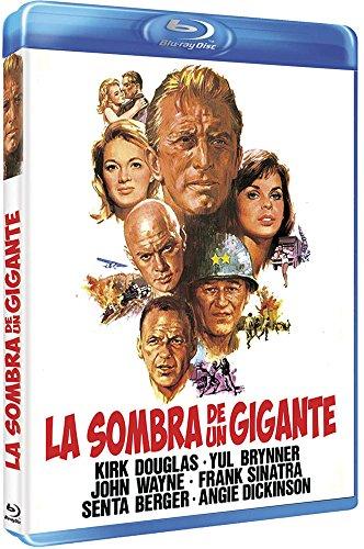 Cast a Giant Shadow - La Sombra De Un Gigante (Blu ray) - Melville Shavelson - Kirk Douglas.