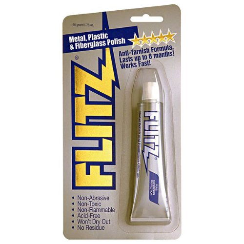 Flitz Metal Polish Tarnish Tube 50 Gram / 1.75 ()