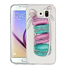 For cellphone Cases, For Samsung Galaxy S6 / G920 Macarons Pattern IMD Workmanship Soft TPU Protective Case ( SKU : SAS0149A )
