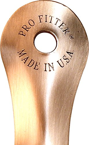 8'' Metal Shoehorn - Made in the USA - Extremely Durable Shoe Horn by JC Cole Est 1980 (Image #4)
