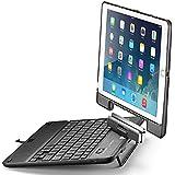 iPad Keyboard Case, iPad Air Keyboard Case, New Trent Airbender Star with Detachable Wireless Bluetooth Smart Keyboard for the Apple iPad Air, iPad Air 2, iPad 5 2017, iPad Pro 9.7