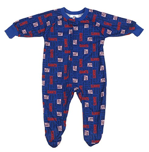 Giants Newborn Toddler Fleece Sleeper