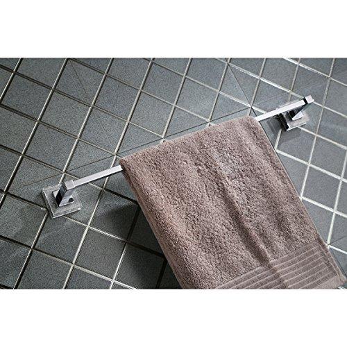 Ruvati RVA5006 Valencia 24 Towel Bar Luxury Bathroom Accessory, Crystal and Chrome by Ruvati (Image #1)