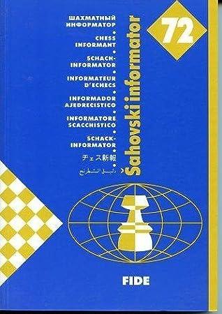 Sahovski Informator Chess Informant No 72 Alexsander Matanovic