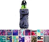 Koverz Neoprene 24-30 oz Water Bottle Insulator Cooler Coolie - Sophisticated