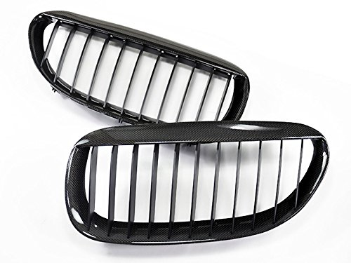 Price comparison product image AutoTecknic Carbon Fiber Front Grille - BMW e63/ e64 6 series coupe/ convertible and e6x M6