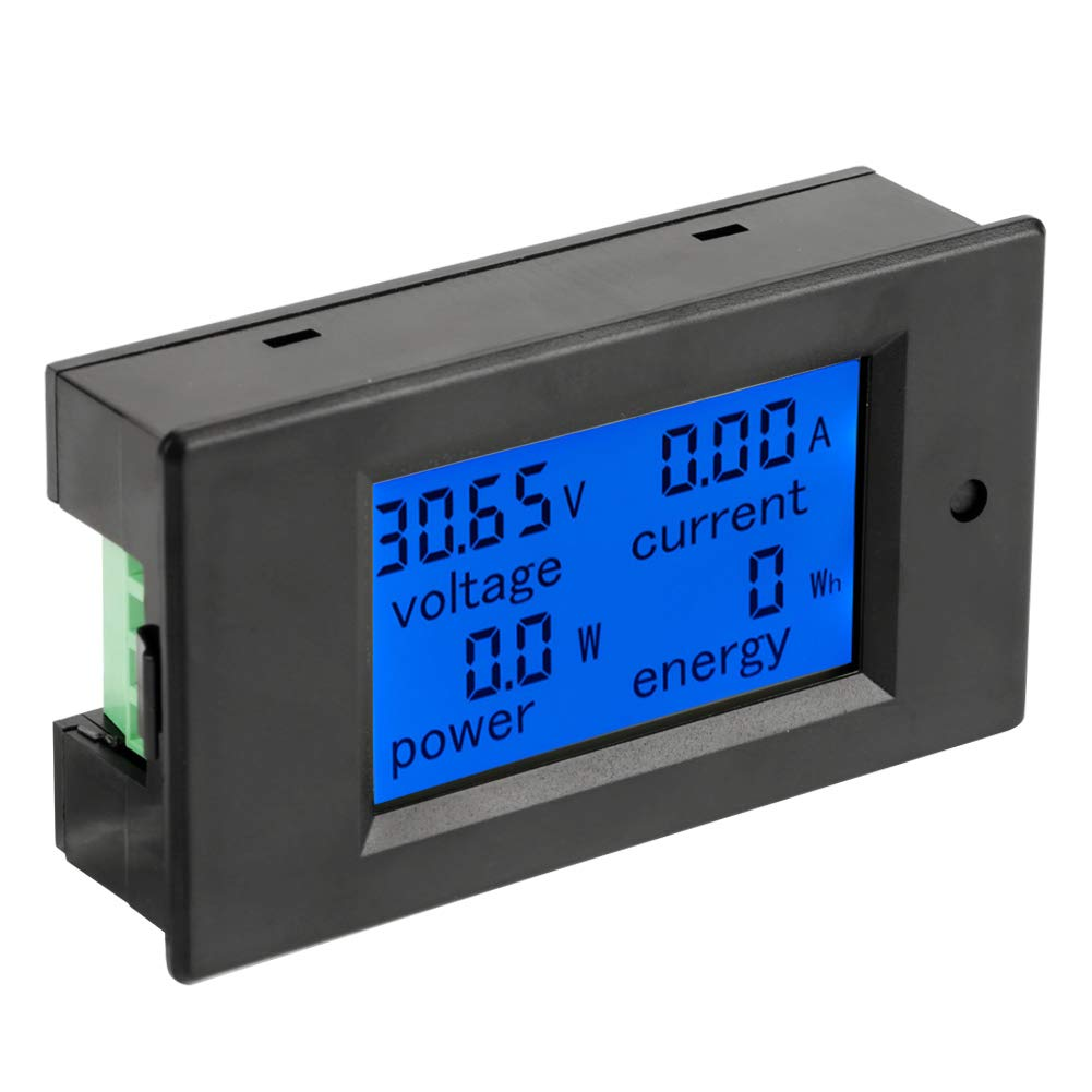 DC 6.5-100V Voltmeter Digital Electric LCD Voltage Tester with Shunt