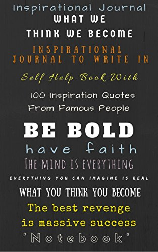 Book Titles In Quotes Cool Inspirational Journal Inspirational Journal To Write In Self Help