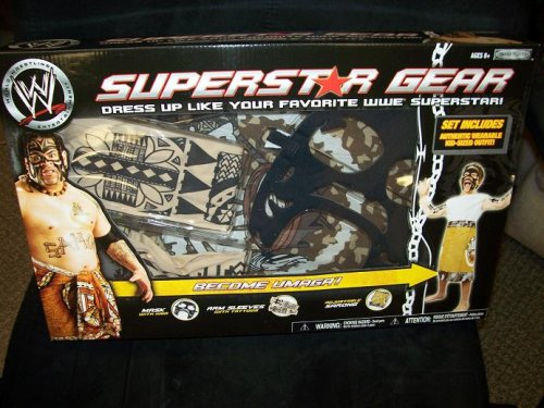 UMAGA WWE Superstar Gear series 2 Role Play WWE Jakks Costume (Costume Role Playset)