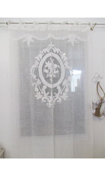 Blanc Mariclo - Long Curtain \