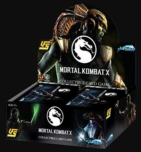 - Jasco Mortal Kombat X CCG: Booster Display