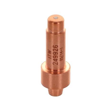 3 x 249926 Electrodes 40A for Miller® Spectrum XT30 XT40 Torch 375//625 XTreme