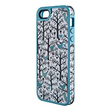 Speck Products SPK-A0763 Fab Shell Fabric-Covered Case for iPhone 5 and 5S-Retail Packaging, LoveBirds Peacock Teal