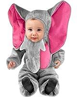Infant Baby Grey Elephant Costume (Size:18-24M)