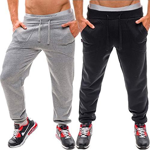 Theraline Pregnancy Pillows - Men's Sweatpants Trousers Hip Hop Baggy