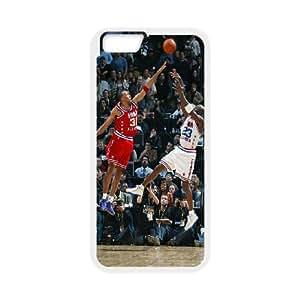 Michael Jordan 9 9 funda iPhone 6 Plus 5.5 Inch Cubierta blanca del teléfono celular de la cubierta del caso funda EOKXLKNBC26777
