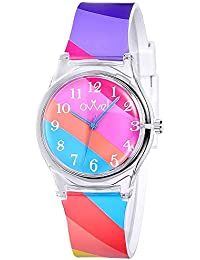 Girls Watch – Pretty and Cute Kids Wristwatch with...