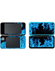 eSeeking Vinyl Cover Decals Skin Sticker for New Nintendo 2DS XL/LL - Ice Blue Flame