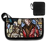 KBLXII BAG Window Glass Color Religion Church Christian Printing Multi-function Card Package Travel Document Receipt And Passport Bag