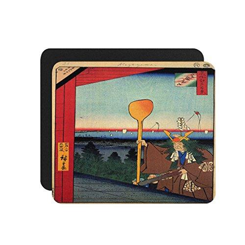 Naito Shinjuku (Hiroshige) Computer Laptop Mouse Pad