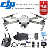 DJI Mavic Pro Quadcopter Drone with 4K Camera and Wi-Fi + Ultimate Bundle with 16gb jump drive deluxe cleaning kit high speed card reader VR goggles and 1 year warranty extension For Sale