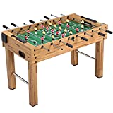 Yaheetech 48'' Deluxe Foosball Table Soccer Arcade Game Table Soccer Table...