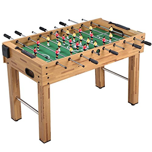 Yaheetech 48'' Deluxe Foosball Table Soccer Arcade Game Table Soccer Table Game Room Football Table Sports