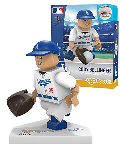 Oyo Sportstoys MLB Los Angeles Dodgers Sports Fan Bobble Head Toy Figures, Blue/White, One Size ()