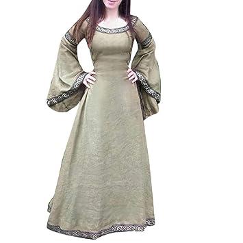 Vestido de Mujer, Dragon868 Mujeres Vestido Medieval ...