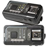 RoboSHOOT MX-15/RX-15 Flash Trigger Kit for Fujifilm X-Series Cameras